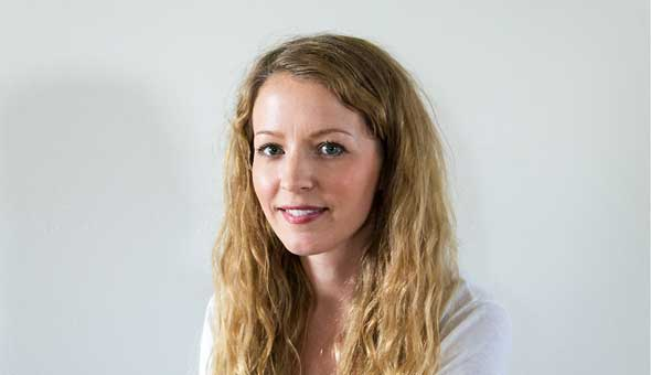 Jenny Asp, vår nya copywriter och skribent.