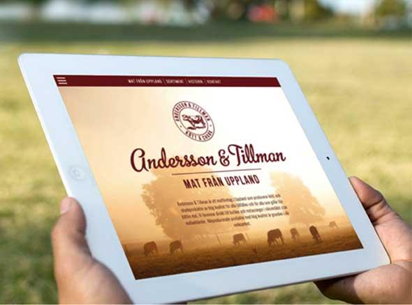 Anderson & Tillman iPad