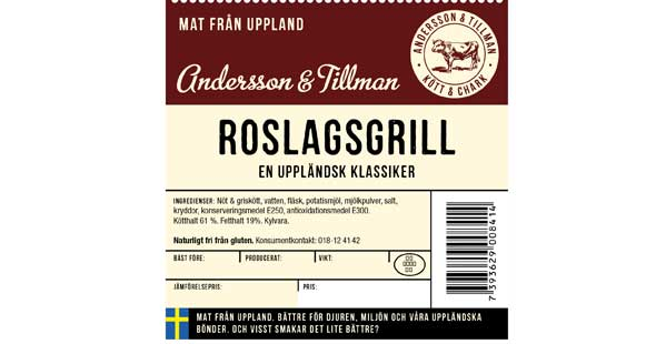 Andersson and Tillman